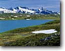 Stock photo. Caption: Lost Lake Kenai Mountains Chugach National Forest Alaska -- glaciers lakes tundra subalpine alpine meadow meadows united states america wildness wildernesses backcountry backpacking peak peaks mountain summer snow purity pristine alaskan landscape landscapes