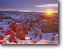 Stock photo. Caption: Bryce Canyon and Table Cliff Plateau    from Inspiration Point Bryce Canyon National Park Paunsaugunt Plateau, Utah -- united states america  southwest canyon country red rock parks sunrise sunrises snow winter